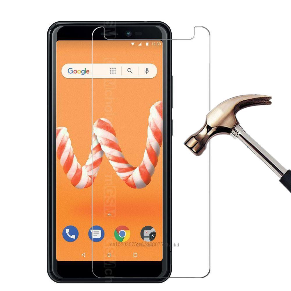 Cristal templado para Smartphone 9H para WIKO Sunny 3 plus Protector de pantalla de película protectora para teléfono Wiko Jerry 3 Sunny 2 plus