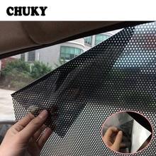 CHUKY-pare-soleil de fenêtre latérale   Protection décran statique, noir, pour Volkswagen VW Golf 4 5 7 6 MK4 Honda Civic 2006