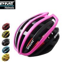 PMT offre spéciale casque de vélo ultra-léger dans le moule casque de vélo respirant route montagne vtt casque de vélo