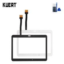 100% Teste de Tela Tablet Touch Panel Digitador de Vidro Para Samsung Galaxy Tab 4 10.1 SM-T530 Acessórios Peças de Substituição + Ferramentas