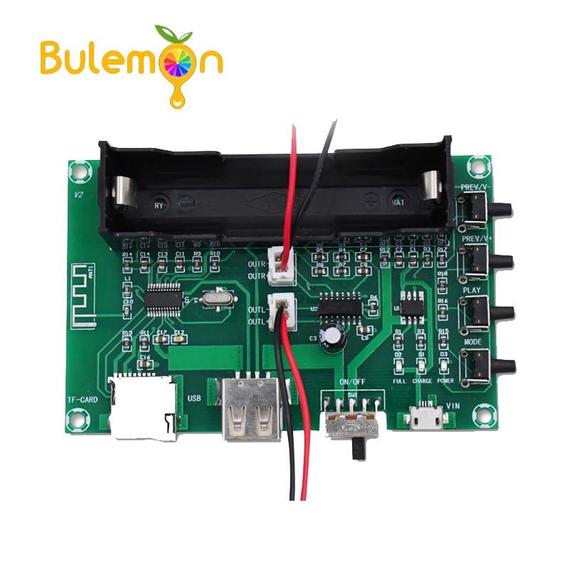 Amplificadores de potência bluetooth digital placa áudio pam8403 amplificador diy para o sistema de som de cinema em casa