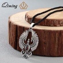 QIMING Phoenix oiseau pendentif collier Chokers aigle pendentif beau phoenix oiseaux charme femmes bijoux petit ami cadeau