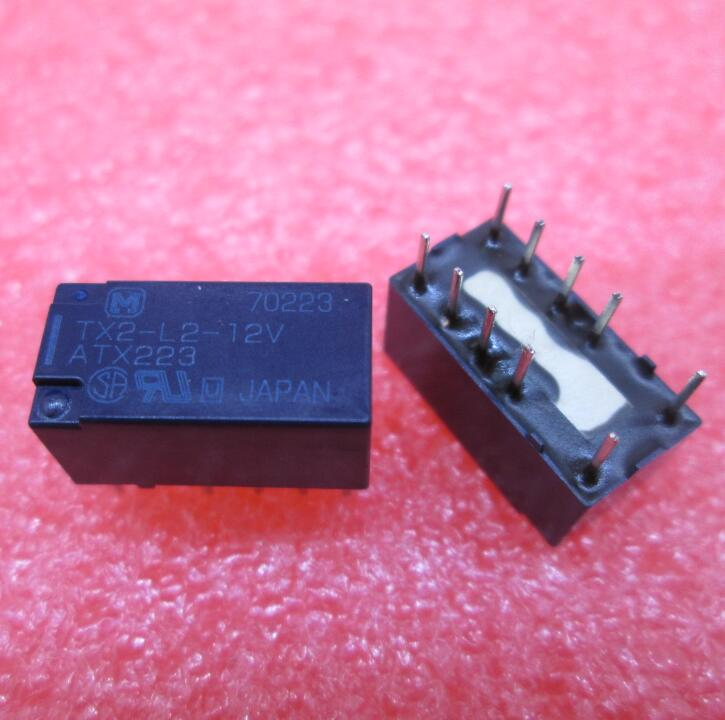 ساخنة جديدة تتابع TX2-L2-12V ATX223 TX2-L2-12VDC TX2L212V 12vdc dc12v dip8 مجانية