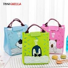 Cute Cartoon Baby Thermal Bags Infant Kid Lunch Food Storage Milk Bottle Warmer Oxford Waterproof Portable Insulation Bag CL5389