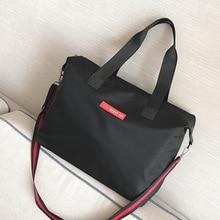 Women Travl Bag Light weight And Simple Handbags Waterproof Duffel Bag Women Shoulder Bag Simple Cossbody Bags