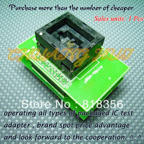 UBGA-48PINS Programmer Adapter BGA48-DIP48 CBGOOO-035 7.236x10.850 Adapter/IC SOCKET/IC Test Socket