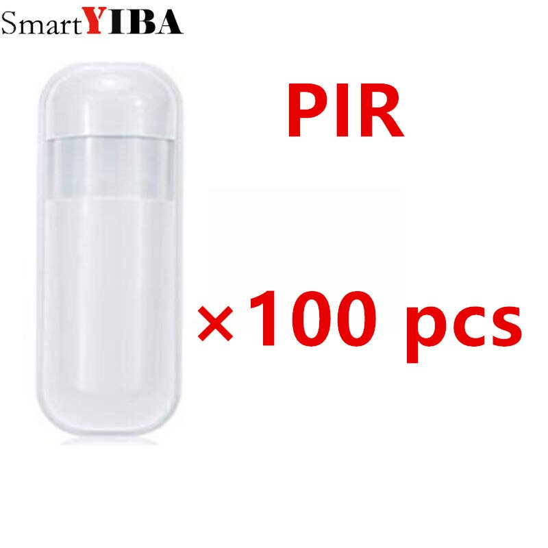 SmartYIBA رائجة البيع 100 قطعة 433 ميجا هرتز EV1527 اللاسلكية السلبي مستشعر الأشعة تحت الحمراء PIR الاستشعار كاشف حركة لنظام إنذار المنزل