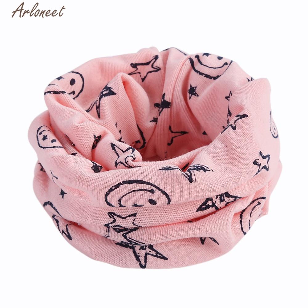 Arloneet roupas do bebê recém-nascido cachecol de algodão quente crianças menino menina 42 cm inverno lenço de algodão xale neckerchief