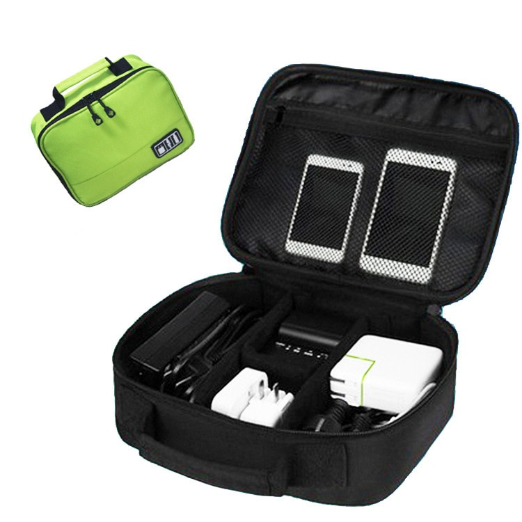 Organizadores Organizers Accessories Gadget Devices USB Cable Charger Tote Case Storage digital Bag Travel data line package