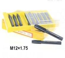 10 piezas envío gratis YAMAWA M12 * 1,75 de nitruro de rosca recta máquina con ranura especial de acero inoxidable grifo hilo grifo