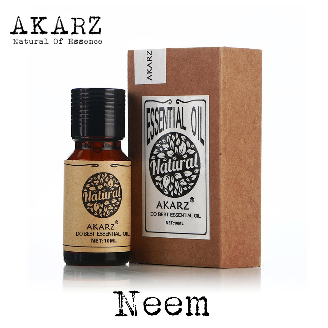 AKARZ Famous brand natural Neem essential oil Insecticidal Disinfection Inhibit the growth of insect