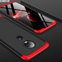 Cherie Original Luxury Phone Cover For Motorola Moto G7 G6 Case 360 Capas Protection Coque For Motorola Moto G7 G6 Cases Fundas