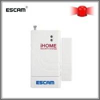 Escam     alarme anti-cambriolage sans fil avec capteur magnetique  rappel douverture pour detecter une porte ouverte