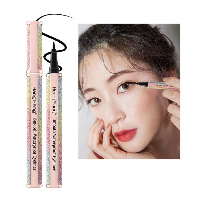 Nuevo Lápiz Delineador de ojos para maquillaje, Lápiz Delineador de ojos estrellado, bolígrafo líquido, extremadamente duradero, resistente al agua, resistente al sudor Hengfang