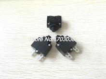 5 pièces 15A ampères bouton de réinitialisation fusible fusible de surcharge thermique