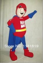 Mascotte bière héros superman mascotte mascotte costume personnalisé anime cosplay kits mascotte thème fantaisie robe carnaval costume
