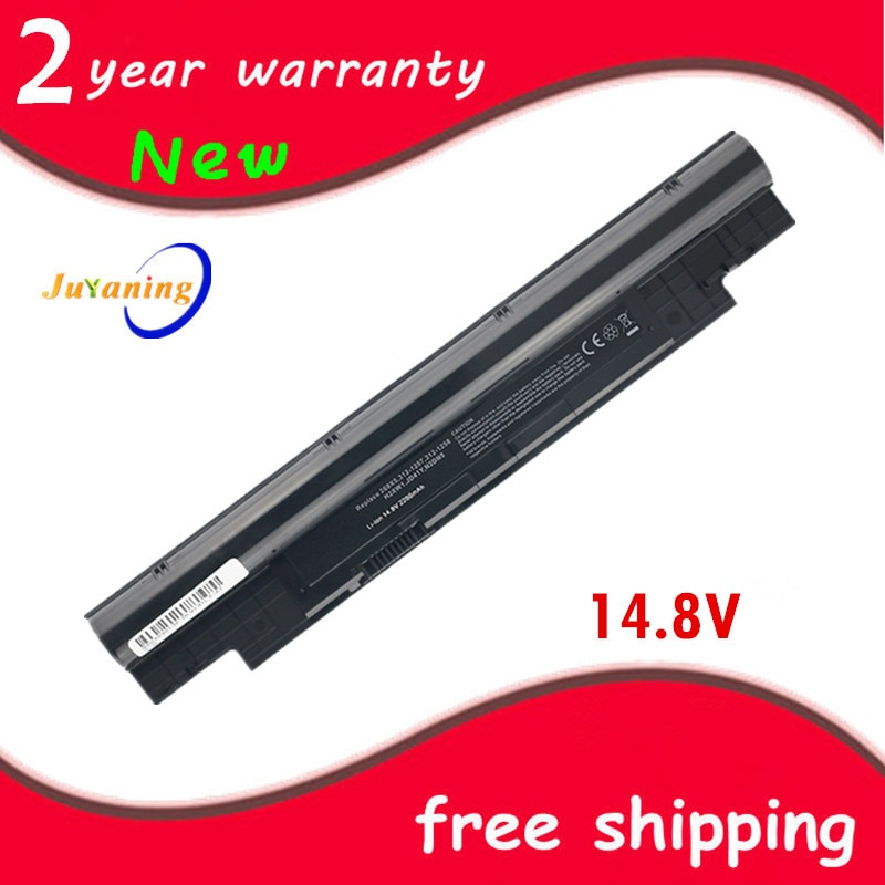 14,8 V 2600mAh batería para Dell Inspiron N311z N411z para Vostro V131 V131D V131R H2XW1 H7XW1 JD41Y N2DN5 268X5 312-1257, 312-1258