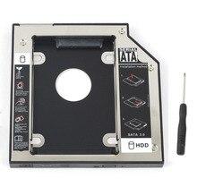 WZSM NEW 9.5mm SATA 2nd SSD HDD Caddy for MSI GE62VR GT72VR GE72VR GP72VR GL62 GL72 6QD MS-1796 GP62 6QF  Hard Disk Drive Caddy