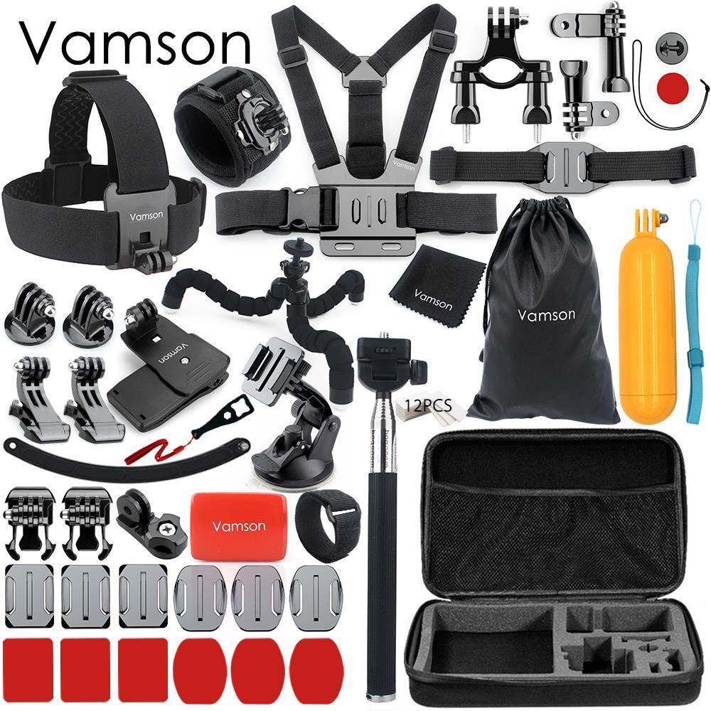 Vamson для Gopro Hero 6 5 4 аксессуары коробка адаптер крепление штатив монопод для Xiaomi YI для SJCAM для Eken Спортивная камера VS149C