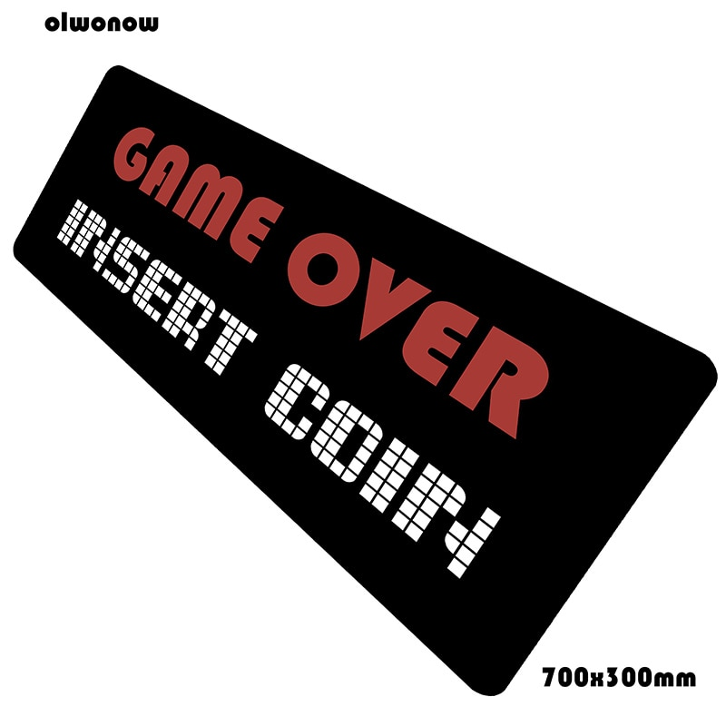 Game Over padmouse Indie Pop 700x300x2mm pad mouse notbook computer mouse pad Gorgeous gaming mousep