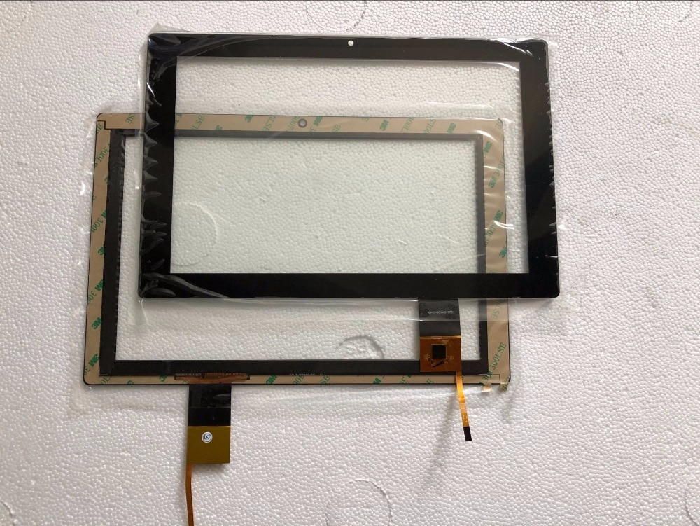 10,1 nuevo para ViewSonic ViewPad100N Tablet Digitalizador de pantalla táctil Sensor de panel táctil de vidrio