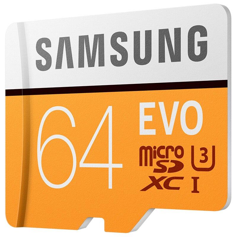 Samsung tarjeta de memoria microsd 64 gb evo tarjetas sd micro sdhc sdxc max 48 m/s evo 64 gb impermeable c10 tf trans flash tarjeta de mikro tarjeta micro sd