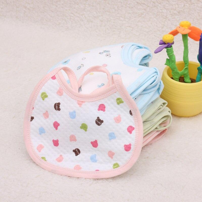 2 unids/lote de babero de algodón para Bebé/toallas para Saliva infantil/babero impermeable de Bebé/babero para recién nacido Bib para bebé B131