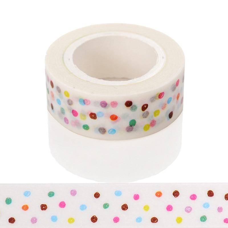 1 unds/pack patrones para elegir 15mm * 10m cinta de impresión Scrapebooking Diy distintivo Stickyr decorativo enmascarar
