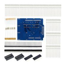 4X4X4 Blau LED Licht Cube Kit 4*4*4 3D LED DIY Kit Elektronische suite für schule bildung labor