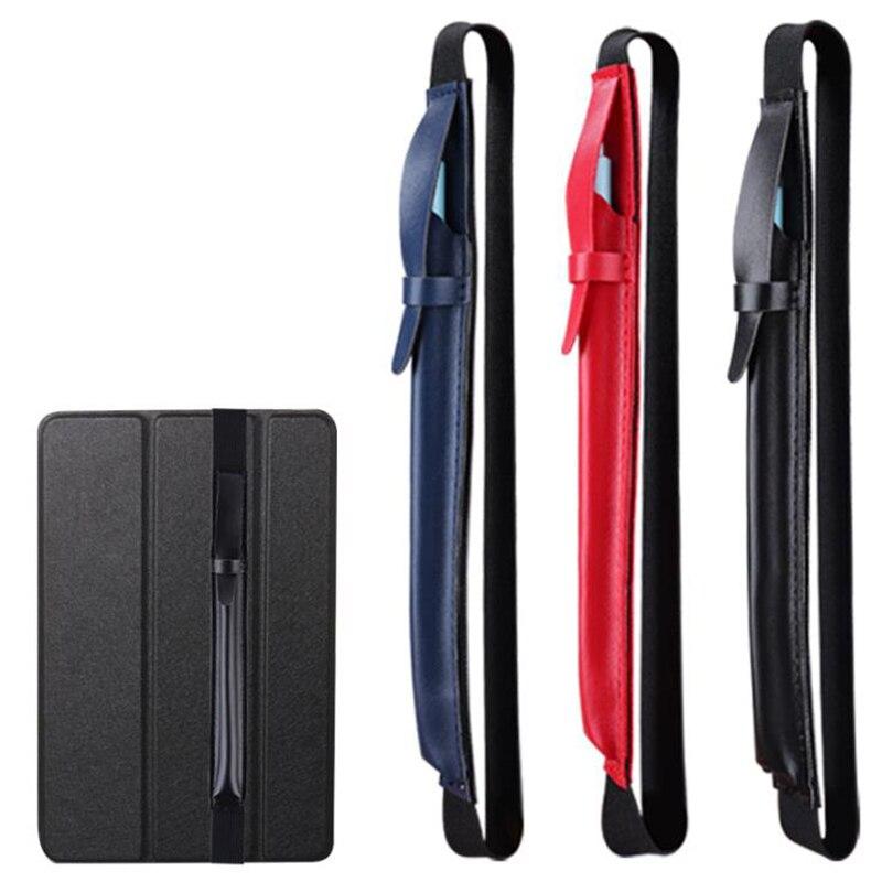 Funda protectora de cuero para estuche capacitivo de Lápiz de pantalla táctil de pluma, funda protectora para IPad y lápiz