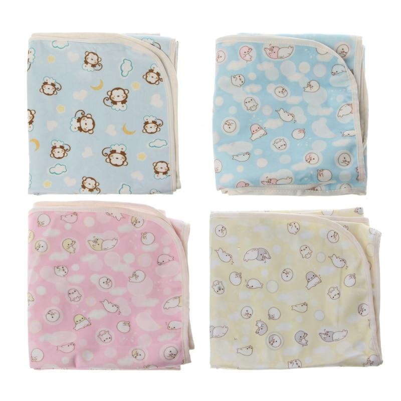 Baby Reusable Mattress Waterproof Diapering Changing Pads Newborn Washable Mat