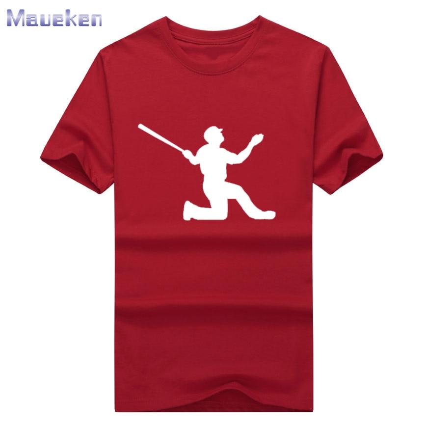 2018 moda Adrián Beltre camiseta roja 100% algodón para fans regalo manga corta Camiseta 0809-1