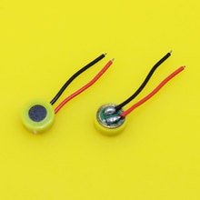 Cltgxdd deux lignes téléphone mobile pièces de réparation microphone 2 fils émetteur Microphone