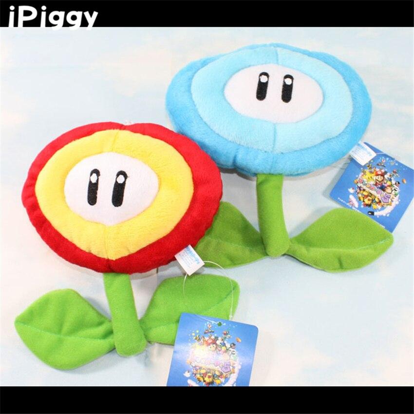 Super Mario Bros Sun Flower peluche juguete girasol Mario acción figuras juguetes muñecas anime chico niños regalo 17CM