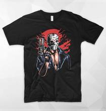 2019 Cheap Crew Neck Men'S Top Tee Jason Terminator T Shirt Mask Horror Top Friday The 13Th Halloween Movie Gif Streetwear Tees