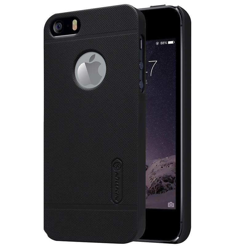 Оригинальный матовый чехол Nillkin для чехол для iphone 5 5s se, твердый пластиковый чехол на заднюю панель для iphone5, чехол с подарком