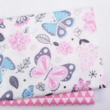 Tissu drap de lit en coton pour bébé   Tissu Patchwork, matériel bricolage pour quarts de lit et enfants