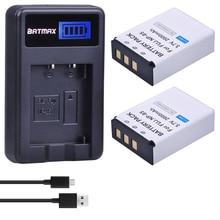 2 pièces 3.7V 2000mAh NP-85 NP 85 batterie dappareil photo + LCD chargeur USB pour Fujifilm FinePix S1 SL240 SL260 SL280 SL300 SL305 SL1000