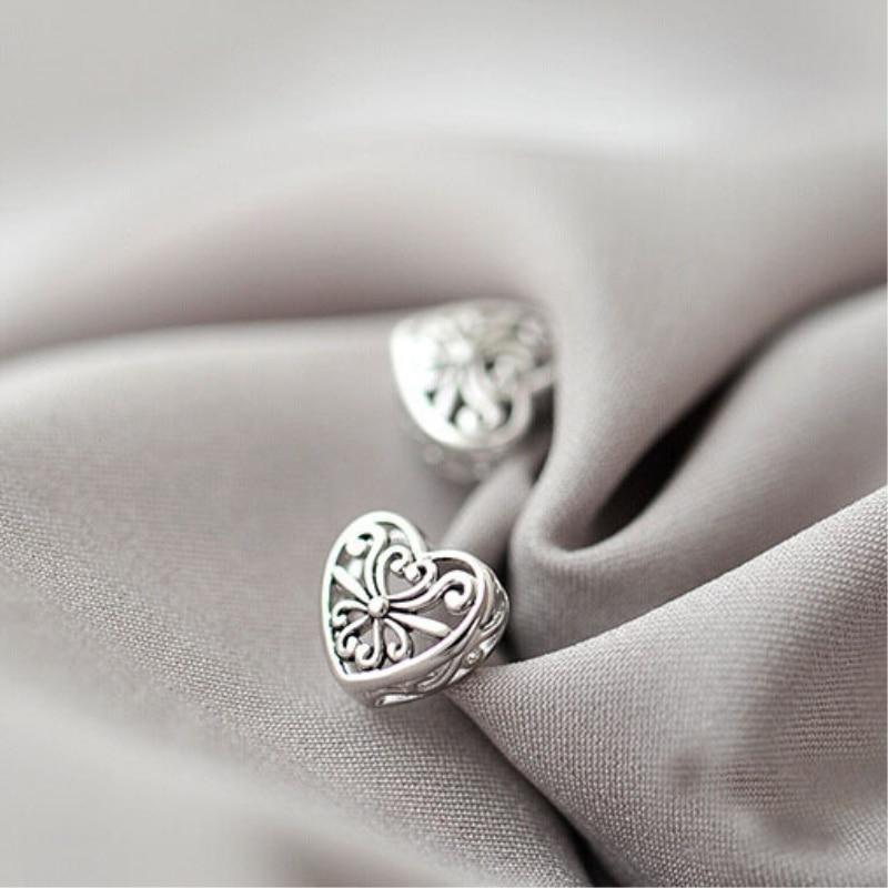 Простые-элегантные-женские-серьги-гвоздики-sea202-из-стерлингового-серебра-925-пробы-с-полым-сердцем