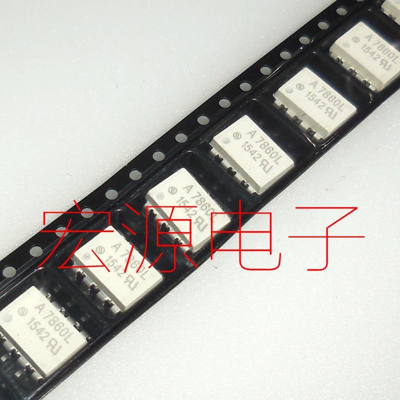 Enviar livre 5 piezas A7860L HCPL-7860L/Chip SOP Optoacoplador Isolador