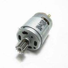 Coche eléctrico para niños RS380 con engranaje motor dc, motor de dirección 380 para vehículo eléctrico, motores de transmisión eléctrica para coche de juguete rc