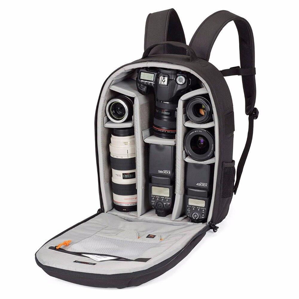 Lowepro Pro Runner 300 AW-حقيبة كاميرا مستوحاة من الحضري ، وغطاء للمطر في جميع الأحوال الجوية