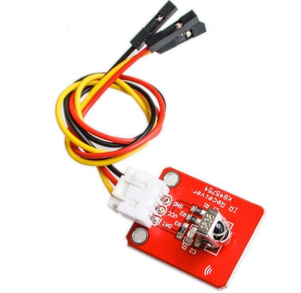 Módulo Sensor receptor infrarrojo 1838T con línea DuPont de 3 pines para Arduino