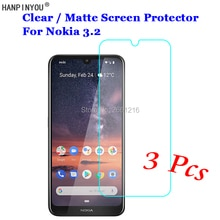 3 Pcs/Lot For Nokia 3.2 / 4.2 New HD Clear / Anti-Glare Matte Front Screen Protector Touch Film Prot