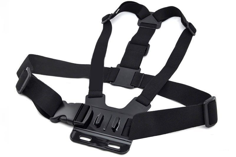Correa de pecho ajustable cinturón cuerpo trípode montaje arnés para Gopro Hero 5 4 3 + 2 1 para Xiaomi Yi para EKEN H9/H9R accesorios de cámara