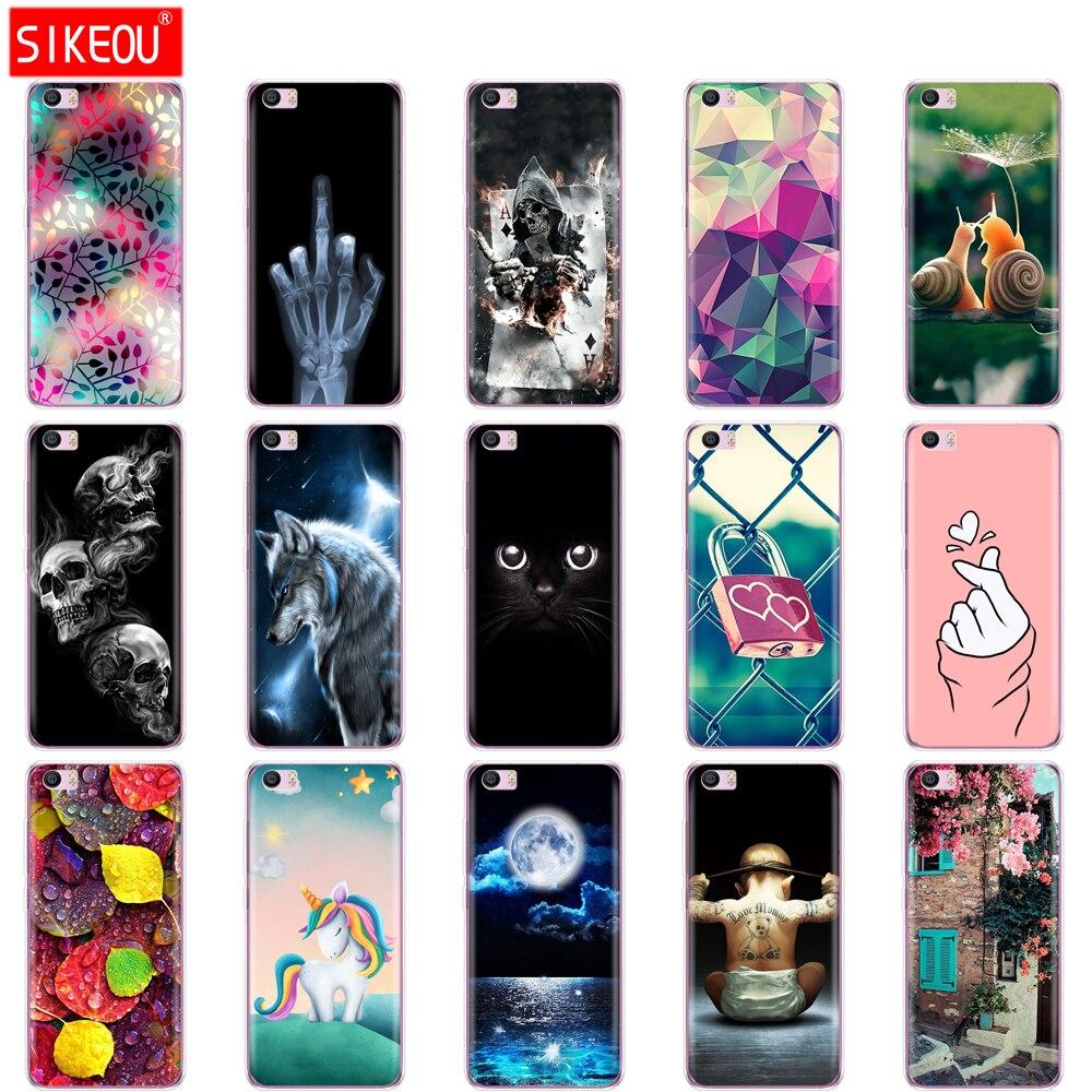 Caso de pintura para xiaomi mi5s mi 5S m5s telefone capa para xiaomi mi5s mi 5S m5 s silicone macio tpu coque protetor pára-choques