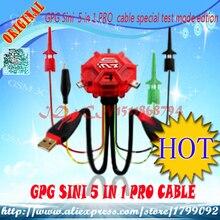 Livraison gratuite GSM-Sources GPG SINI 5 en 1 câble pro livraison gratuite peut être utilisée avec des boîtes MT.CYCLONE.ATF.ect