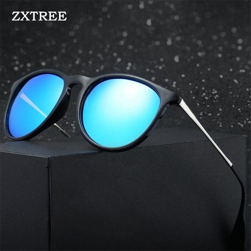 2019 Brand Designer Cat Eye Women Sunglasses Vintage Metal Polarized Men Mirror Retro Oculos De Sol Gafas Z175