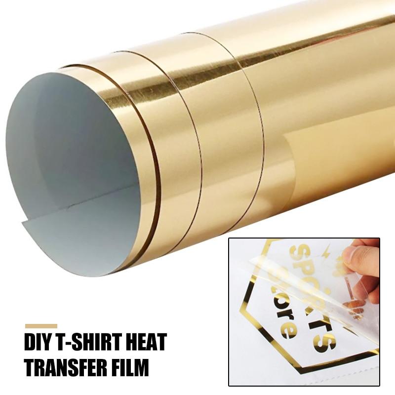 Camisetas doradas papel de transferencia térmica creativa telas ligeras duraderas impresoras de inyección de tinta imagen Diy A4 Dropshipping