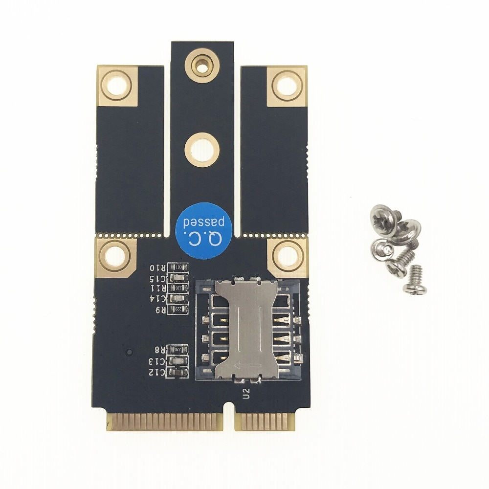 M.2 NGFF B Ключ к Mini PCI-E PCIE конвертер адаптер карта комплект с слотом для sim-карты Поддержка 3G 4G LTE сетевой адаптер модуль для ПК